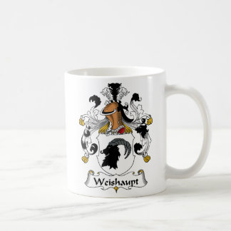Weishaupt Family Crest Coffee Mugs