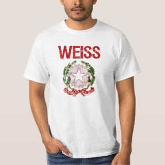 Weiss Italian Surname T-shirt