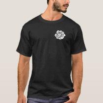 Weisse Rose (over heart) T-Shirt