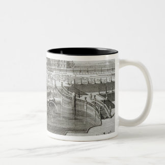 Weissenstein, view towards the castle from the Bar Two-Tone Coffee Mug
