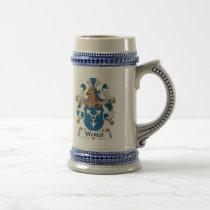 Weitzel Family Crest Beer Stein