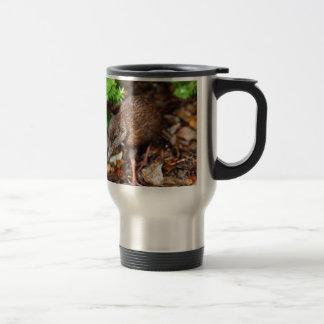Weka bird New Zealand Travel Mug