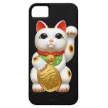 welc japonés del talismán del encanto del gato afo iPhone 5 Case-Mate protector