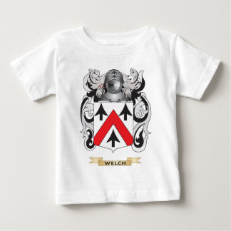 Welch Family Crest (Coat of Arms) Infant T-shirt