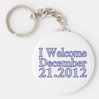 Welcome 2012 keychain
