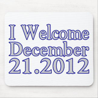 Welcome 2012 mouse pad