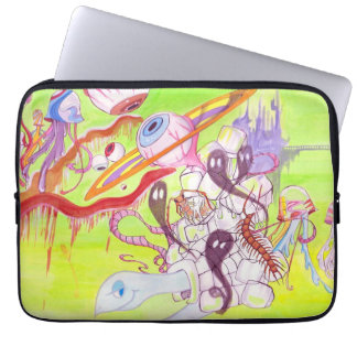 Welcome 2 Konfuction graphic laptop sleeve