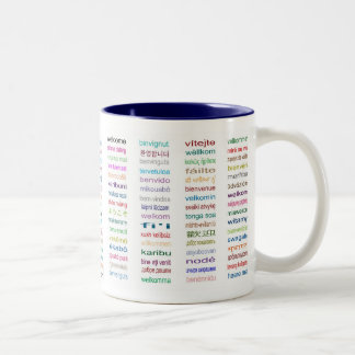 Welcome : 80 Languages Coffee Cup