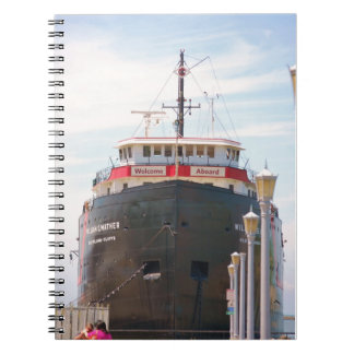 """Welcome Aboard"" collection Spiral Notebook"