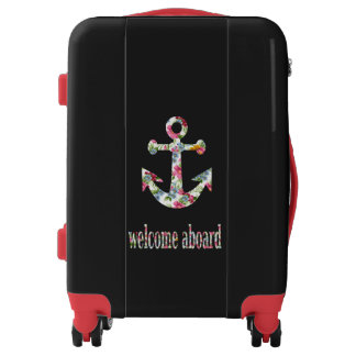 welcome aboard luggage