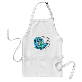 Welcome Aliens Adult Apron