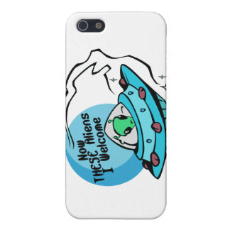Welcome Aliens iPhone SE/5/5s Case