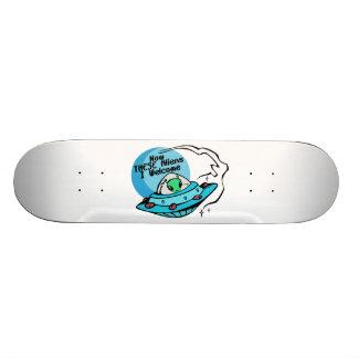 Welcome Aliens Skateboard Deck
