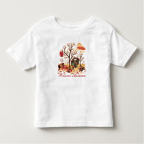 Welcome Autumn Fall Scenery Toddler T-shirt