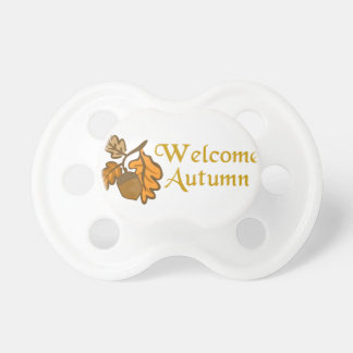 Welcome Autumn Pacifier