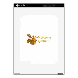 Welcome Autumn Skin For iPad 2