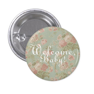 """""""Welcome, Baby!"""" Baby Shower Buttons"""