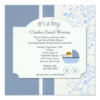 Welcome Baby Invitations & Announcements | Zazzle