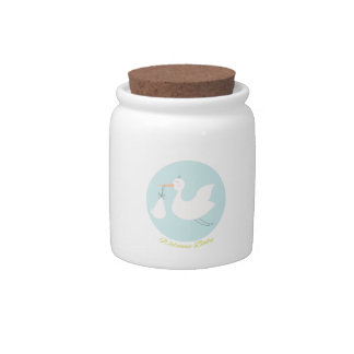 Welcome Baby Candy Jars