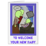 Welcome, Baby Greeting Cards