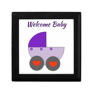 welcome baby keepsake box