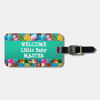 Welcome BABY Master Bag Tags