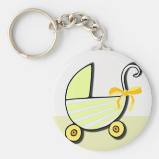Welcome Baby or Baby Shower Keychain