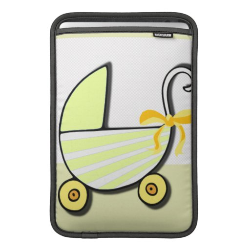 Welcome Baby or Baby Shower MacBook Sleeves