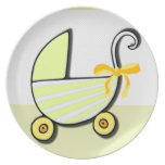 Welcome Baby or Baby Shower Plate