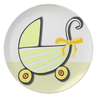 Welcome Baby or Baby Shower Party Plates