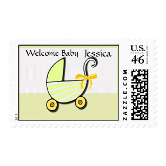 Welcome Baby or Baby Shower Postage