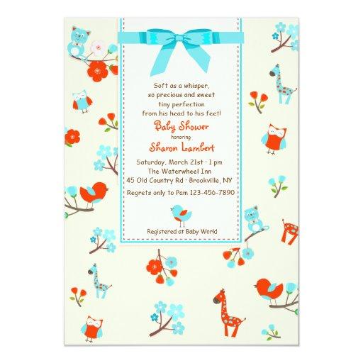 welcome baby shower invitation zazzle