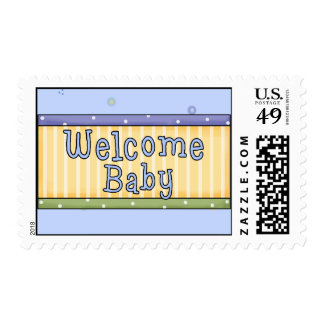 Welcome Baby Stamp