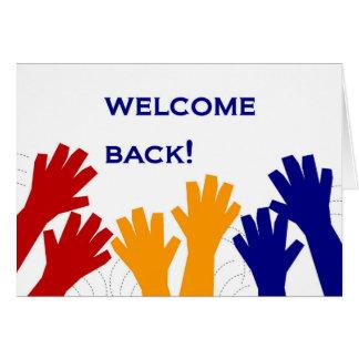 Welcome Back! Card