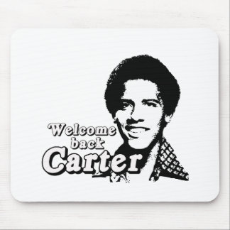 Welcome back Carter Mouse Pad