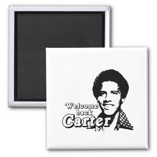 Welcome back Carter Refrigerator Magnet