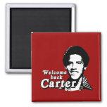 Welcome back Carter Refrigerator Magnets