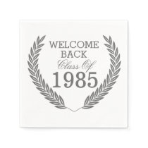 Welcome Back Class Of Napkin
