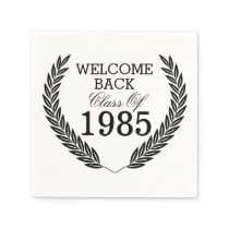 Welcome Back Class Of Paper Napkin