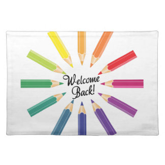 Welcome Back Cloth Placemat