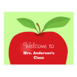 Welcome back from teacher postcard