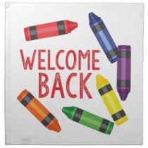 Welcome Back Napkin