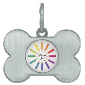 Welcome Back Pet ID Tag