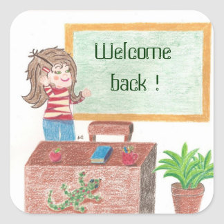 Welcome back ! stickers