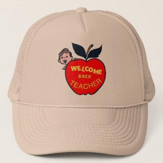 Welcome Back Teacher Trucker Hat