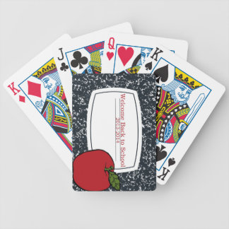 Welcome Back to School 2013 Bicycle Playing Cards