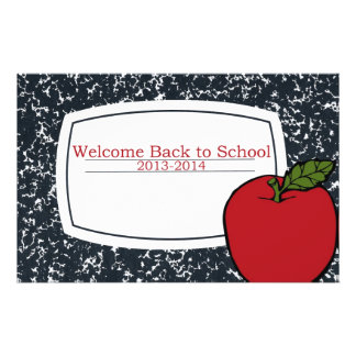 Welcome Back to School 2013 Flyer