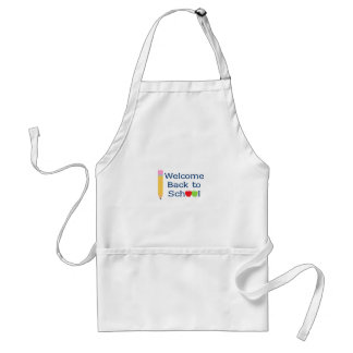 WELCOME BACK TO SCHOOL APRON