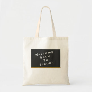 Welcome Back To School bag