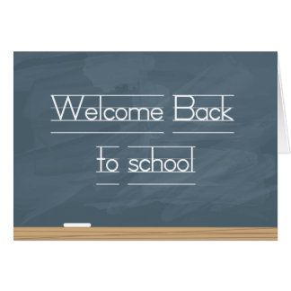 welcome back to school cards welcome back to school card templates postage invitations. Black Bedroom Furniture Sets. Home Design Ideas